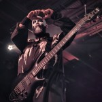 Marco Coti Zelati performing with Lacuna Coil at the Soul Kitchen in Mobile