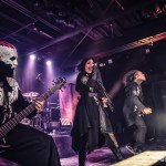 Lacuna Coil performing at the Soul Kitchen in Mobile