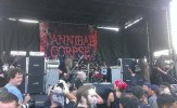 Cannibal Corpse closes the side stage area. Photo by Rogelio Chavez