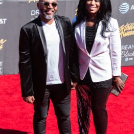 Jerard & Jovaun at the 34th Stellar Awards held at Orleans Arena, Las Vegas on March 29, 2019 in Las Vegas, NV, USA (Photo by: Mike Ware/Sipa USA)