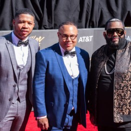 Last Call with Fred Jerkins at the 34th Stellar Awards held at Orleans Arena, Las Vegas on March 29, 2019 in Las Vegas, NV, USA (Photo by: Mike Ware/Sipa USA)