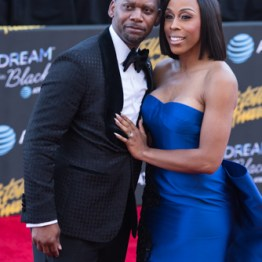 Dianna Williams with Husband at the 34th Stellar Awards held at Orleans Arena, Las Vegas on March 29, 2019 in Las Vegas, NV, USA (Photo by: Mike Ware/Sipa USA)