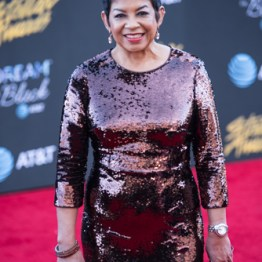Jackie Patillo at the 34th Stellar Awards held at Orleans Arena, Las Vegas on March 29, 2019 in Las Vegas, NV, USA (Photo by: Mike Ware/Sipa USA)