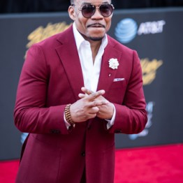 Lonnie Hunter at the 34th Stellar Awards held at Orleans Arena, Las Vegas on March 29, 2019 in Las Vegas, NV, USA (Photo by: Mike Ware/Sipa USA)