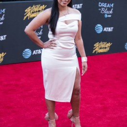 Corrin Hawthorne at the 34th Stellar Awards held at Orleans Arena, Las Vegas on March 29, 2019 in Las Vegas, NV, USA (Photo by: Mike Ware/Sipa USA)