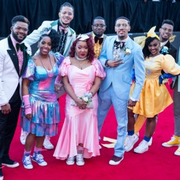 Judah Band at the 34th Stellar Awards held at Orleans Arena, Las Vegas on March 29, 2019 in Las Vegas, NV, USA (Photo by: Mike Ware/Sipa USA)