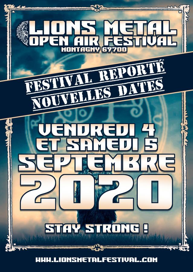 Report du Lions Metal Open Air Festival