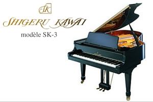 Pianos de Concert Prévalet Bruno - Dijon - Shigeru Kawai SK-3