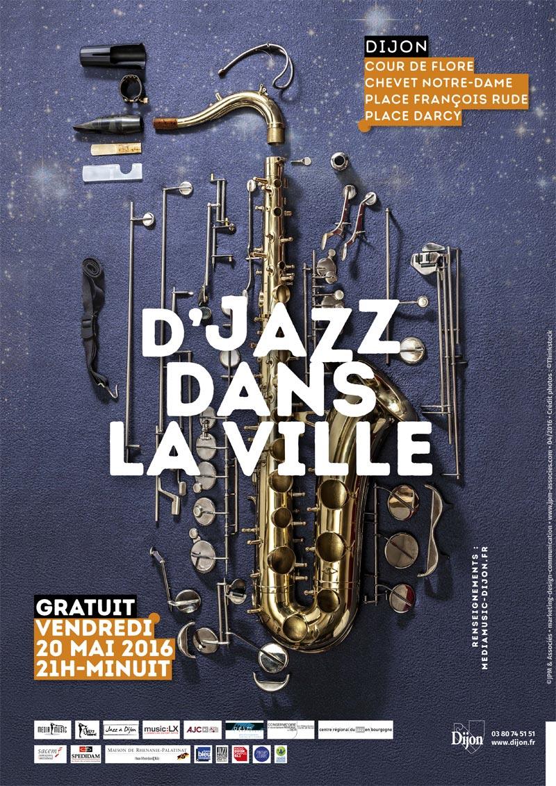 Jazz dans la ville - dijon - 20/05/2016
