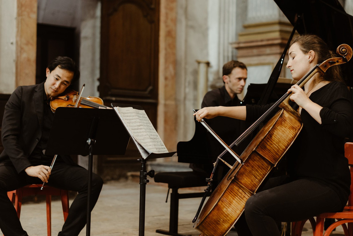 Concert Trio Stendhal - Scène Fontainoise - C. bechstein- Prévalet Musique