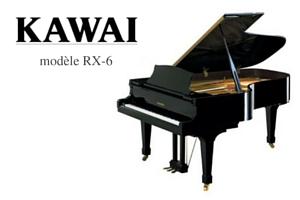 Kawai RX6 Piano de concert Prévalet Musique