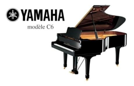 piano yamaha c 6 concert Prévalet dijon