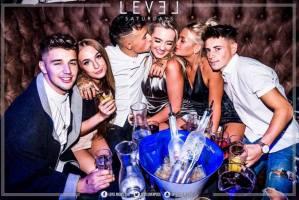Level nightclub booths