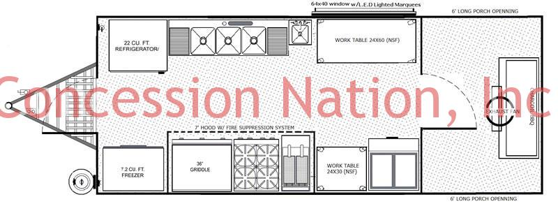 Custom BBQ Trailers| BBQ Smoker Trailer| Concession Nation