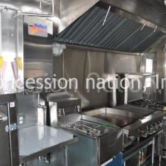 Used Commercial Kitchen Equipment Island Remodel Product Details - Custom Food Trucks | Concession Nation ...