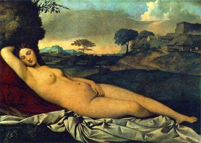 Venere addormentata