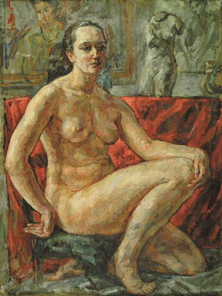Nude In An Interior