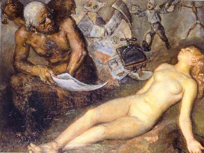 prision y muerte de la pintura