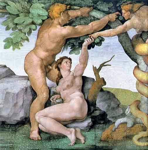 MICHELANGELO - Adamo ed Eva