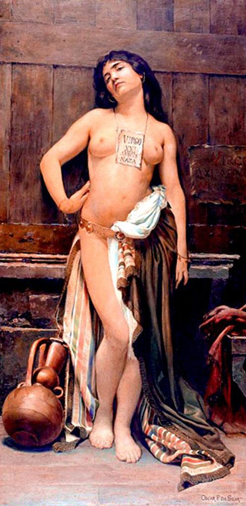 A escrava romana