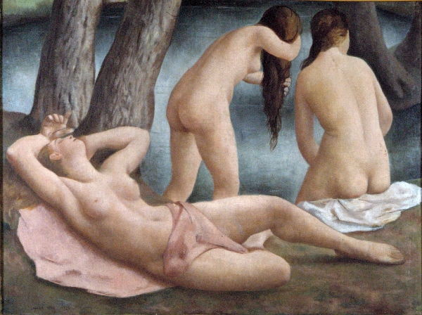 Le tre bagnanti