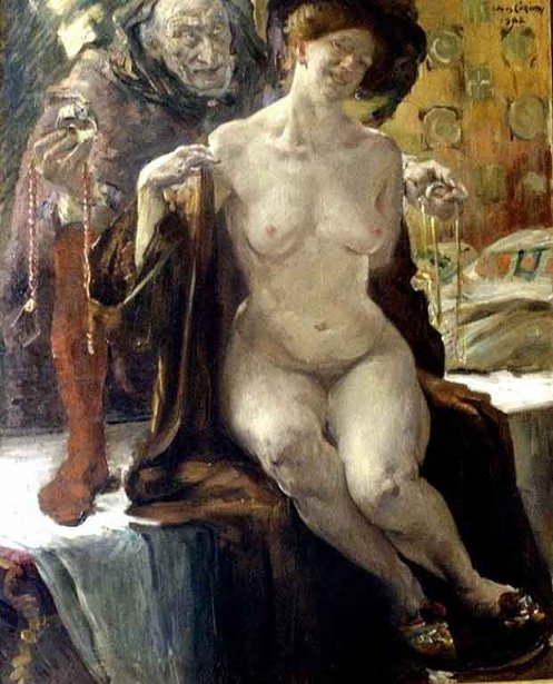 Lovis Corinth 1858  1925 German  LA CONCHIGLIA DI VENERE