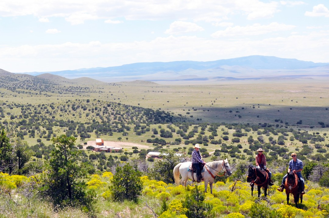 Concho Hills Guest Ranch from North Hill