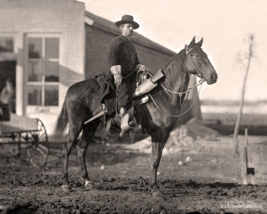 Joel Fowler, in Socorro; circa 1880