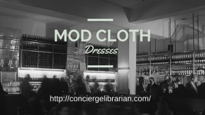 Ladies Mod Clothing