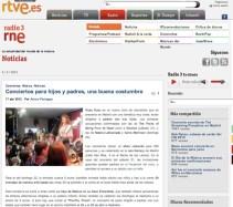 Conciertos Guau Guau - Prensa - Radio 3