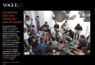 Conciertos Guau Guau - Prensa - Vogue