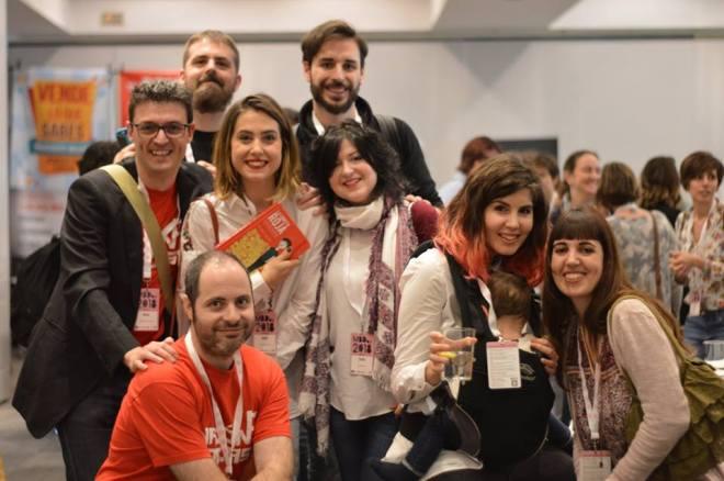 MBDay, foto de grupo de blogueros, primer un año