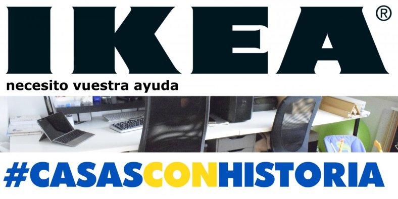 Cabecera para el post #CasasConHistoria de Ikea y Madresfera