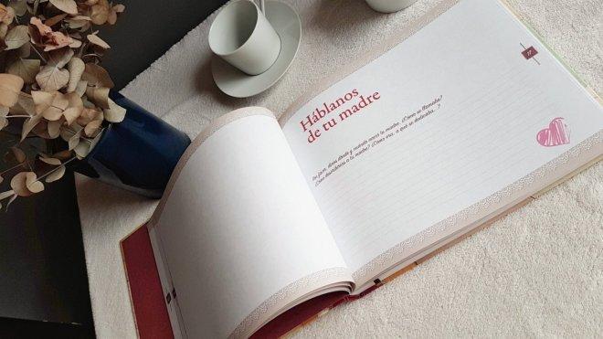 Interior del libro Abuela, en el que se pregunta por la madre de la abula