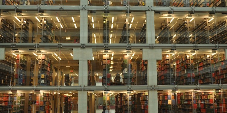 Ohio State Library Stacks