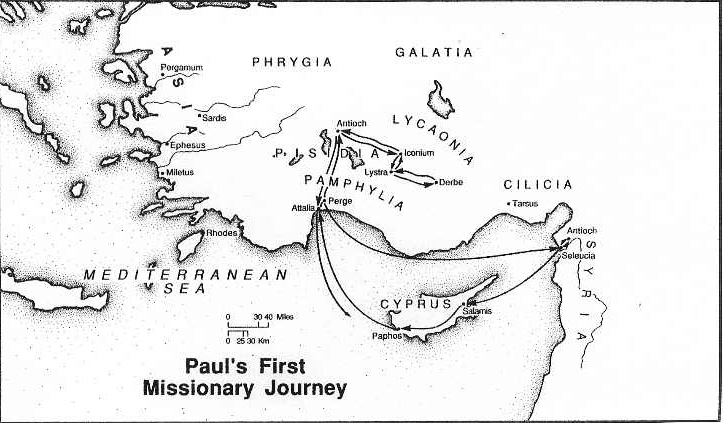 36 – First Missionary Journey
