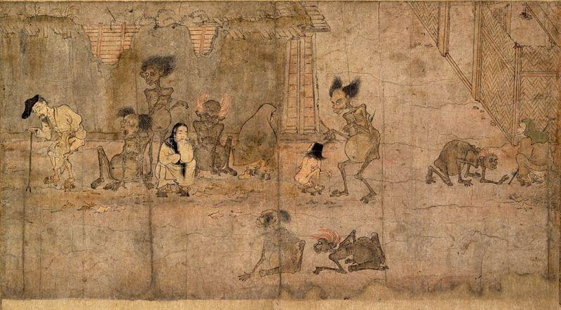 Gaki-Zoushi. Kyoto National Museum [Public domain]