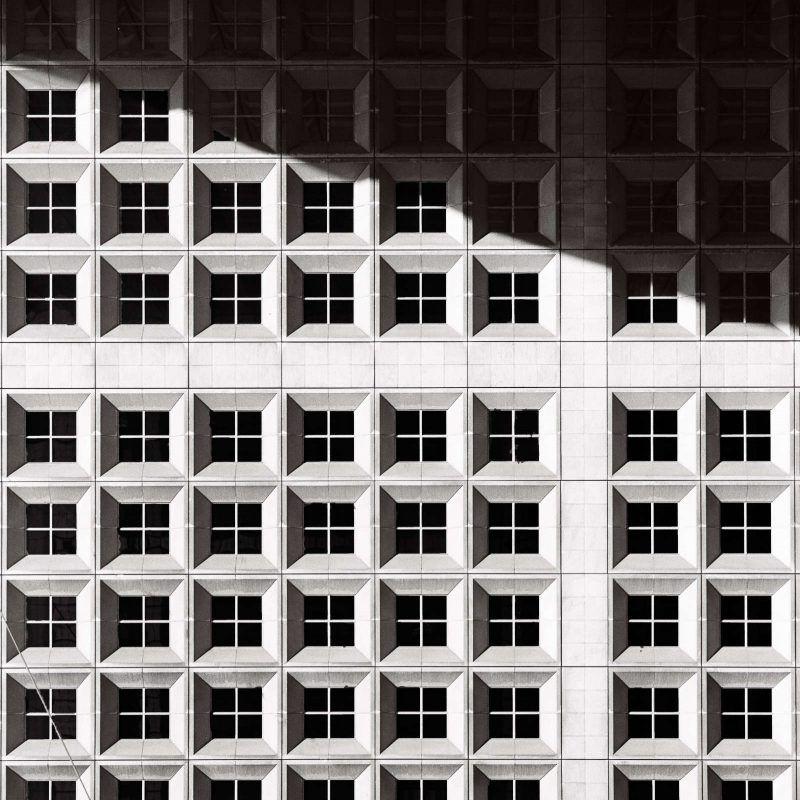 Fotografía de ventanas en un edificio como metáfora de nuestra interdependencia