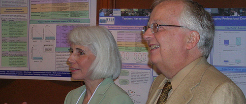 Marcia Linn and Bob Tinker