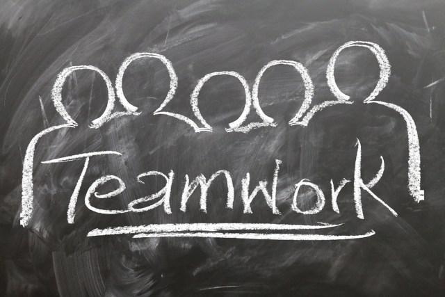 Teamwork Chalkboard