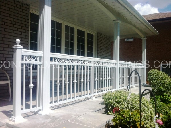Decorative Aluminum Railing Systems - Year of Clean Water