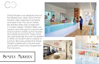 Macaron Franchise: Environmental Design