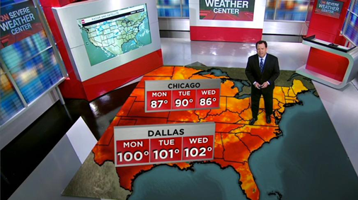 CNN Weather Center: 2016