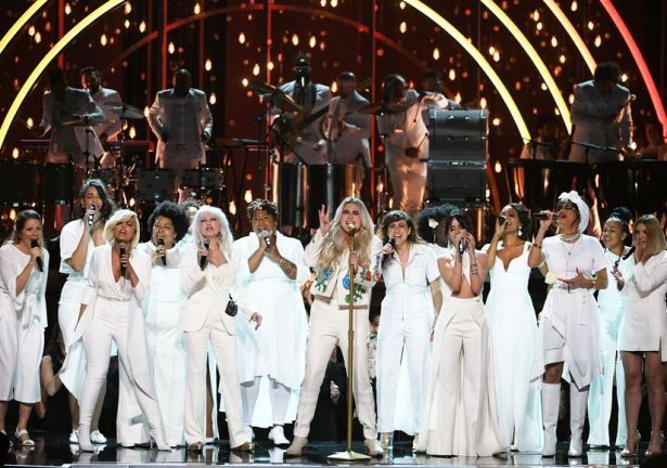 Kesha 60th Annual GRAMMY Awards