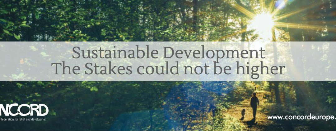 "CONCORD Report ""Sustainable Development – Stakes could not be higher"" 2016"