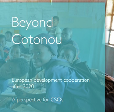 Beyond Cotonou report cover