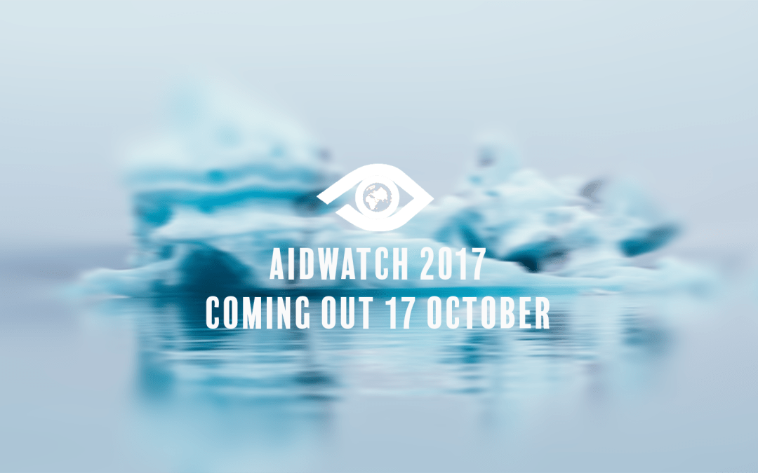 The AidWatch Report 2017 is coming!