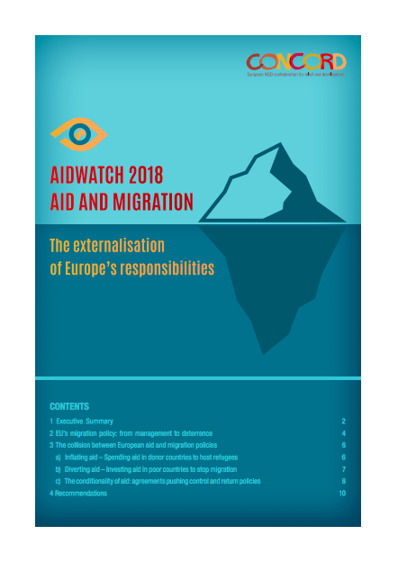 AidWatch 2018: Aid and migration – the externalisation of Europe's responsibilities