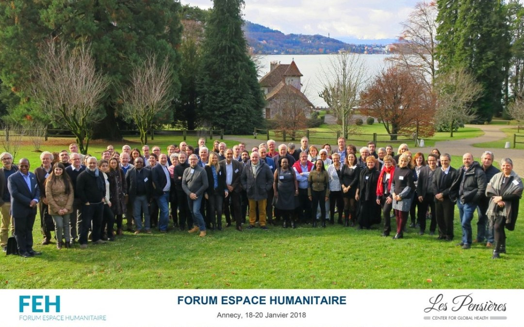 Reporting back from Forum Espace Humanitaire