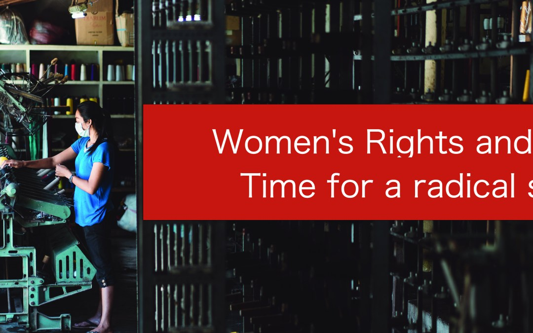 Publication: Women's Rights and Trade – Time for a radical shift